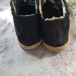 lei Shoes - L.e.i black suede booties. Size 9